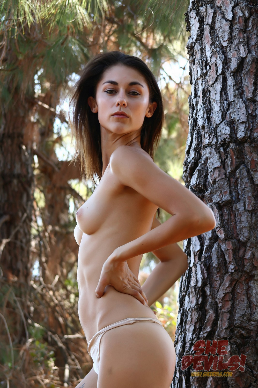 Skinny and naked